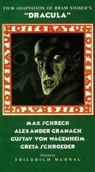 Nosferatu, eine Symphonie des Grauens - VHS movie cover (xs thumbnail)