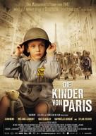 La rafle - German Movie Poster (xs thumbnail)