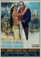 Mutiny on the Bounty - Italian Movie Poster (xs thumbnail)