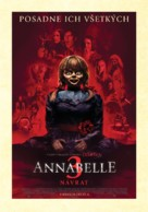 Annabelle Comes Home - Slovak Movie Poster (xs thumbnail)