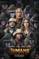 Jumanji: The Next Level - Spanish Movie Poster (xs thumbnail)