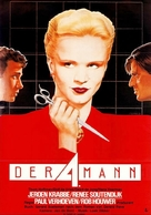 De vierde man - German Movie Poster (xs thumbnail)