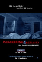 Paranormal Activity 4 - Movie Poster (xs thumbnail)