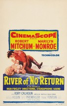 River of No Return - Theatrical movie poster (xs thumbnail)