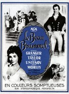 Beau Brummell - French Movie Poster (xs thumbnail)