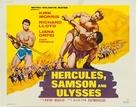 Ercole sfida Sansone - Movie Poster (xs thumbnail)
