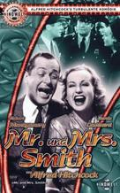 Mr. & Mrs. Smith - German VHS cover (xs thumbnail)