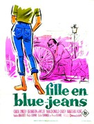 Blue Denim - French Movie Poster (xs thumbnail)