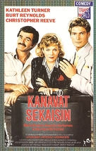 Switching Channels - Finnish VHS movie cover (xs thumbnail)
