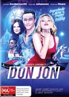 Don Jon - Australian DVD cover (xs thumbnail)