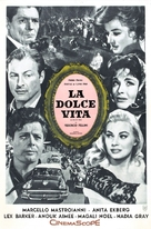 La dolce vita - Argentinian Movie Poster (xs thumbnail)
