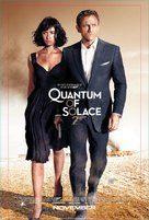 Quantum of Solace - Norwegian Movie Poster (xs thumbnail)