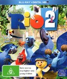Rio 2 - Australian Blu-Ray movie cover (xs thumbnail)