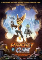 Ratchet and Clank - Romanian Movie Poster (xs thumbnail)