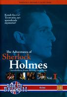 """The Adventures of Sherlock Holmes"" - Danish DVD movie cover (xs thumbnail)"