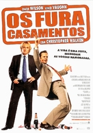 Wedding Crashers - Portuguese Movie Poster (xs thumbnail)