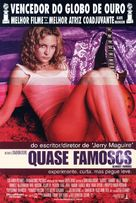 Almost Famous - Brazilian Theatrical movie poster (xs thumbnail)
