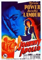 Johnny Apollo - French Movie Poster (xs thumbnail)