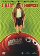 The Big Lebowski - Hungarian DVD cover (xs thumbnail)