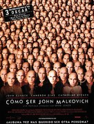 Being John Malkovich - Spanish Movie Poster (xs thumbnail)