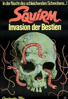 Squirm - German Movie Poster (xs thumbnail)
