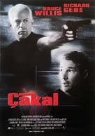 The Jackal - Turkish Movie Poster (xs thumbnail)