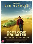 Don't Come Knocking - French Movie Poster (xs thumbnail)
