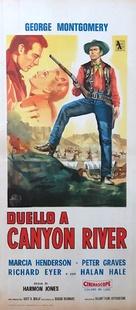Canyon River - Italian Movie Poster (xs thumbnail)