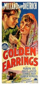 Golden Earrings - Australian Movie Poster (xs thumbnail)