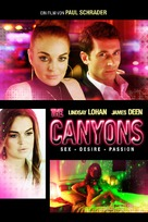 The Canyons - German DVD cover (xs thumbnail)