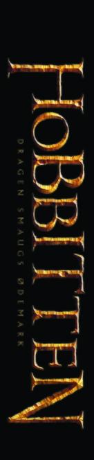 The Hobbit: The Desolation of Smaug - Danish Logo (xs thumbnail)
