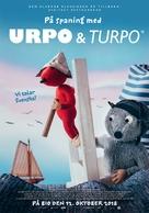 Urpo & Turpo johtolangan jäljillä - Finnish Movie Poster (xs thumbnail)