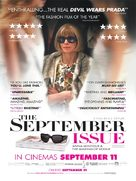 The September Issue - British Movie Poster (xs thumbnail)
