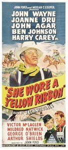 She Wore a Yellow Ribbon - Australian Movie Poster (xs thumbnail)