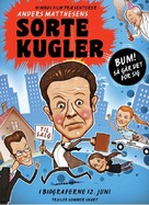 Sorte kugler - Danish Movie Poster (xs thumbnail)