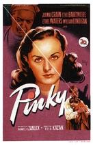 Pinky - Spanish Movie Poster (xs thumbnail)