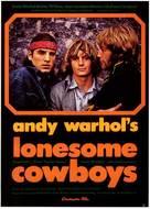 Lonesome Cowboys - German Movie Poster (xs thumbnail)
