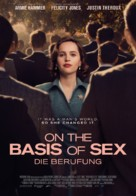 On the Basis of Sex - Swiss Movie Poster (xs thumbnail)
