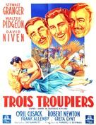 Soldiers Three - French Movie Poster (xs thumbnail)