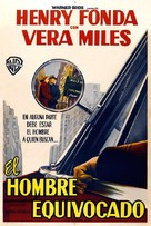 The Wrong Man - Argentinian Movie Poster (xs thumbnail)