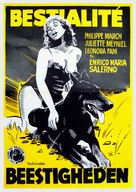 Bestialità - Belgian Movie Poster (xs thumbnail)