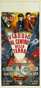 Journey to the Center of the Earth - Italian Theatrical poster (xs thumbnail)