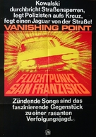Vanishing Point - German Movie Poster (xs thumbnail)