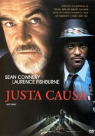 Just Cause - Brazilian DVD movie cover (xs thumbnail)