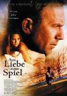 For Love of the Game - German Movie Poster (xs thumbnail)