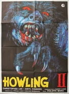 Howling II: Stirba - Werewolf Bitch - Italian Movie Poster (xs thumbnail)