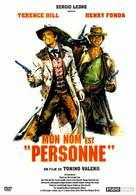 Il Mio Nome E Nessuno - French DVD cover (xs thumbnail)