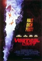 Vertical Limit - German Movie Poster (xs thumbnail)