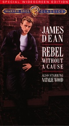 Rebel Without a Cause - VHS cover (xs thumbnail)
