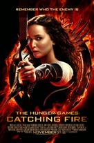 The Hunger Games: Catching Fire - British Movie Poster (xs thumbnail)